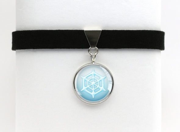 Ice Type Symbol Pokemon Choker Necklaces