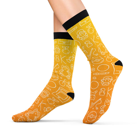 Pokemon pattern socks