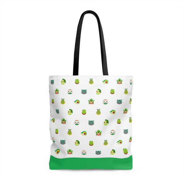 Grass Type Pokemon Tote Bag