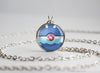 Popplio Pokemon Alola Starter Themed Pokeball pendant