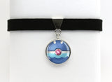 Popplio Pokemon Pokeball Choker Necklaces