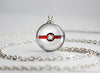 Pokemon Pokeball Premier Ball Necklace Pendant