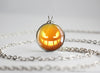 Pokemon Halloween Pumpkin Gengar Necklace