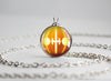 Pokemon Halloween Pumpkin Chandelure Necklace