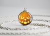 Pokemon Halloween Pumpkin Misdreavus Necklace