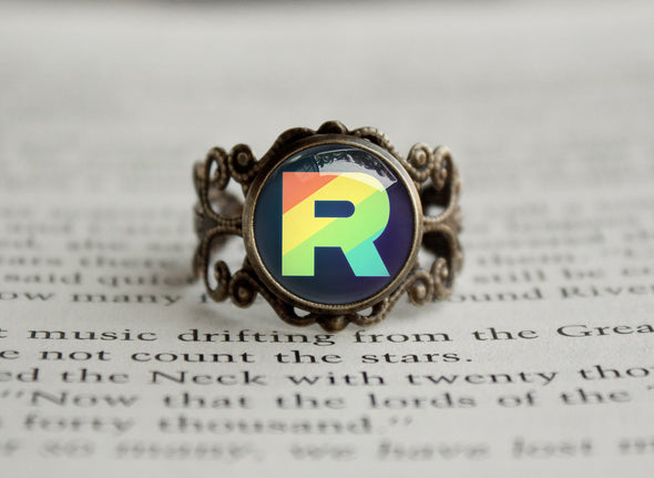 Pokemon ring Team Rainbow Rocket Ring