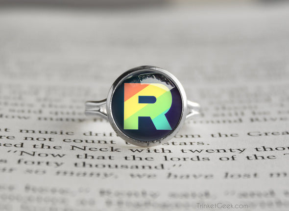 Pokemon Team Rainbow Rocket Ring