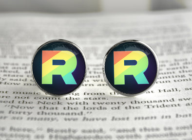 Pokemon Team Rainbow Rocket Cufflinks