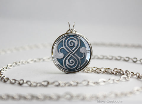 Doctor pendant Seal of Rassilon
