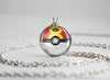Pokemon Pokeball Repeat Ball Necklace Pendant