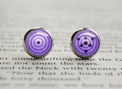 Naruto Rinnegan Earrings