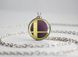 Super Smash Ball Robin necklace