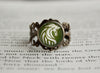 LOTR antique style ring Crest of Rohan