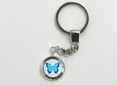SMT Blue Butterfly Key Chain Persona