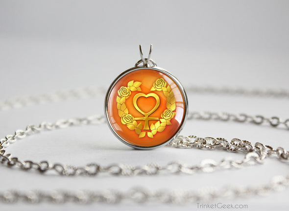 Sailor Moon Sailor Venus symbol pendant