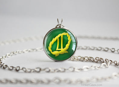 Sailor Moon Sailor Jupitar symbol pendant