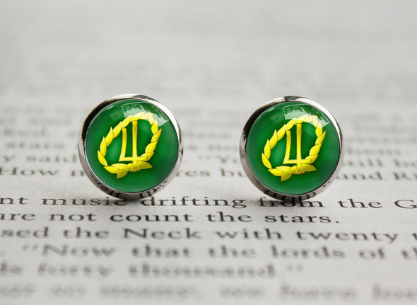 Sailor Moon Sailor Jupiter Henshin Symbol earrings