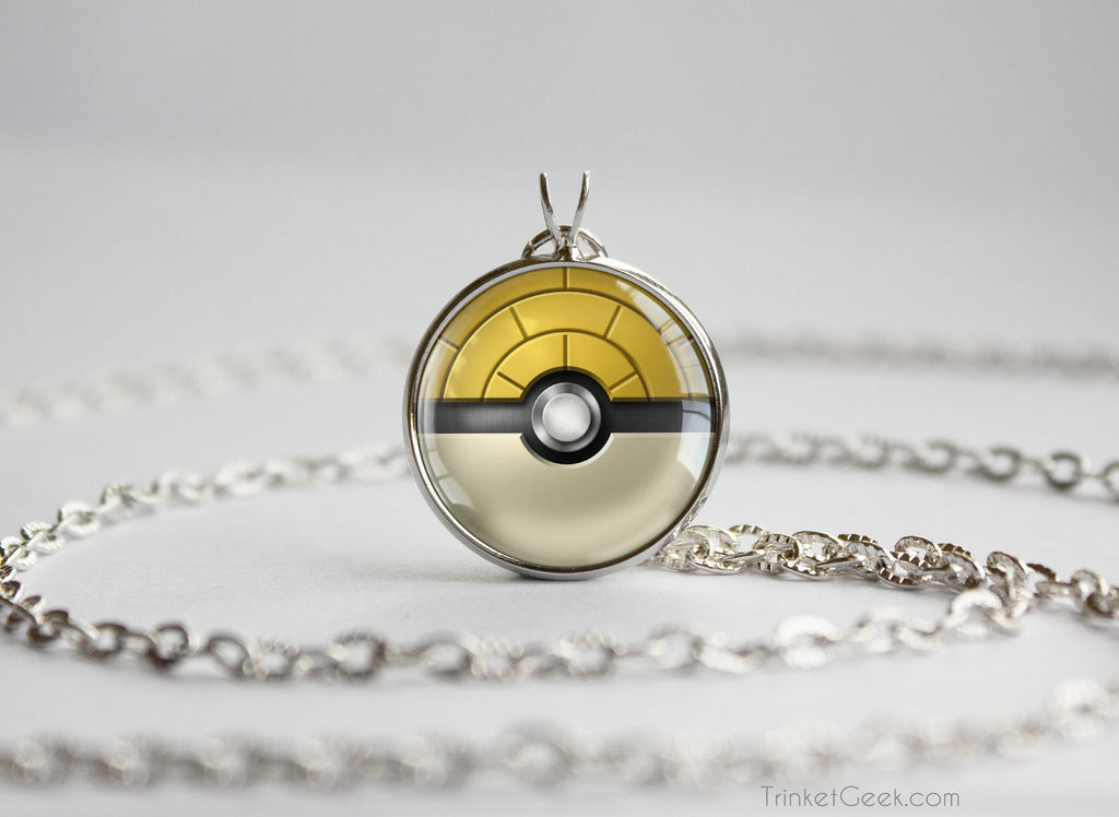 Pokemon themed pokeball pendant necklaces trinket geek pkmn themed pokeball pendants aloadofball Gallery
