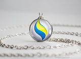 Pokemon Sharpedonite Sharpedo Mega Stone Pendant Necklace