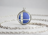 Super Smash Ball Sheik necklace