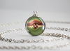 Shiny Chestnaught Pokemon Kalos Starter Themed Pokeball pendant