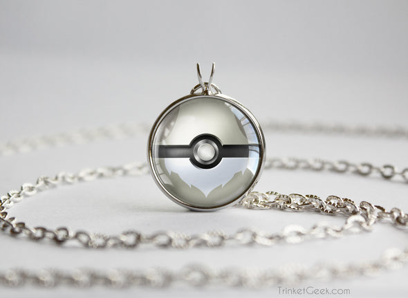 Pokemon Shiny Eevee Eeveelution Pokeball Pendant Necklace