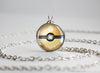 Pokemon Shiny Flareon Eeveelution Pokeball Pendant Necklace
