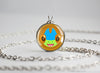 Flygon Shiny Pokemon Chibi Portrait necklace