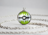 Pokemon Shiny Jolteon Eeveelution Pokeball Pendant Necklace