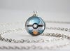 Pokemon Shiny Mega Gardevoir Themed Pokeball necklace pendant