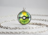 Pokemon Shiny Mega VenusaurThemed Pokeball Pendant Necklace
