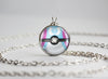 Pokemon Shiny Sylveon Eeveelution Pokeball Pendant Necklace