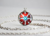 Pokemon Shiny Yveltal Pokeball Pendant Necklace