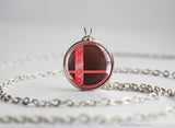 Super Smash Ball Shulk necklace