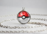 Singapore Pokemon Flag pokeball necklace