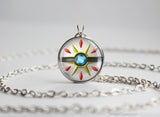 Pokemon Sun and Moon Solgaleo necklace