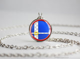 Super Smash Ball Sonic necklace