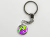 Splatoon Key Chain Turf War Squids Yin & Yang