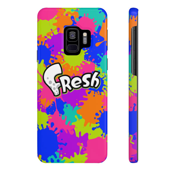 Splatoon FRESH Ink Splatter Phone Case