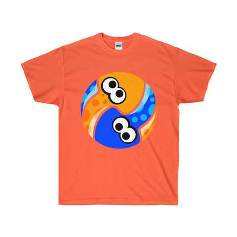Orange splatoon shirt