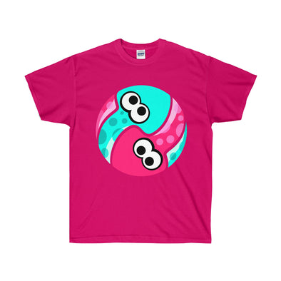 Pink Splatoon shirt