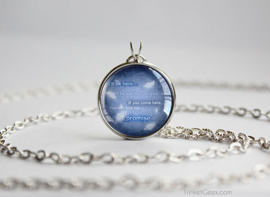 FFVIII FF8 Final Fantsasy 8 Squall Quotation Pendant