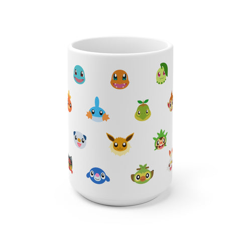 Starter pokemon mug