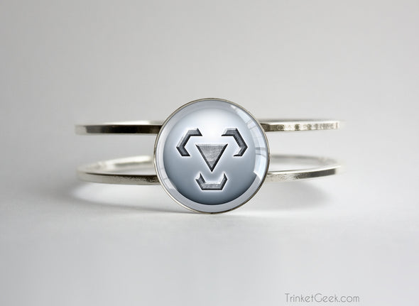 Steel Type symbol pokemon bracelet