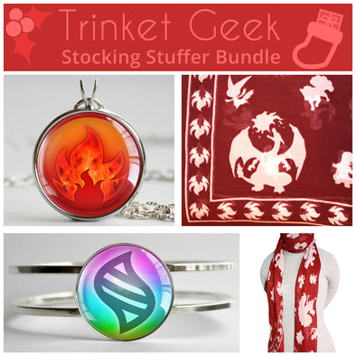 PKMN Fire Type Stocking Stuffer Bundle
