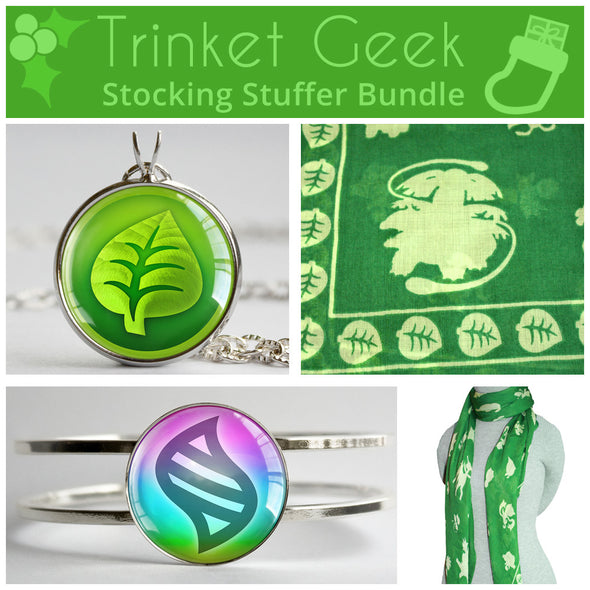 PKMN Grass Type Stocking Stuffer Bundle
