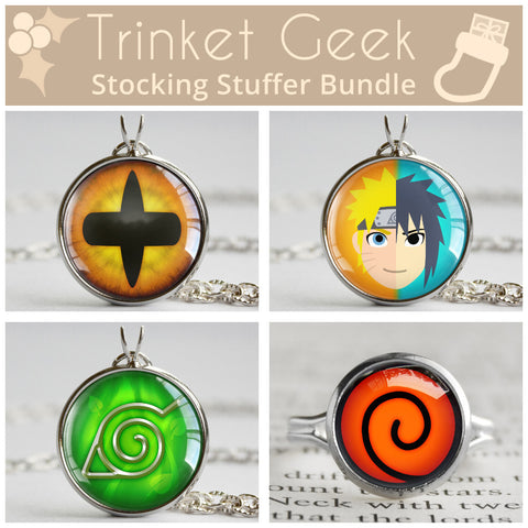 Naruto Uzumaki Stocking Stuffer Bundle