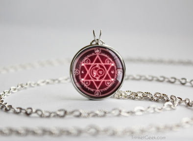 Fate Stay Night Summoning Circle necklace