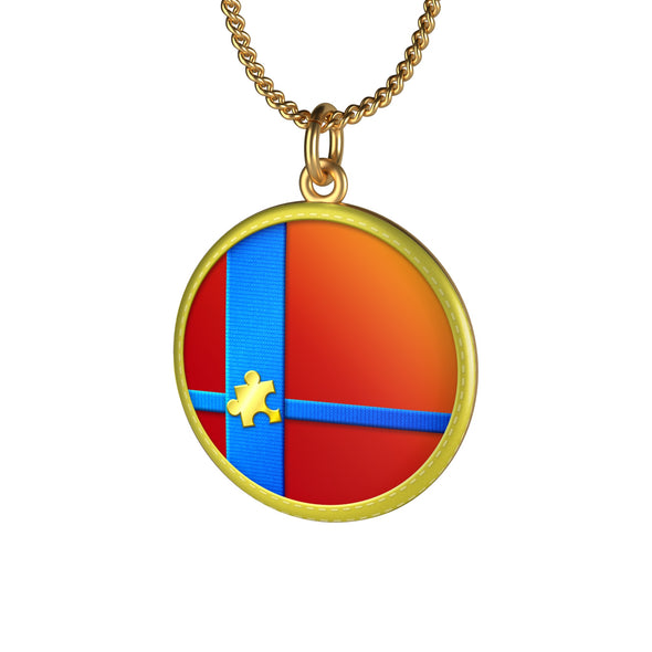 Super Smash Ball 18K Gold Sterling Silver Coin Smash Bros Ultimate necklaces