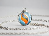 Pokemon Swampert Swampertite Mega Stone Pendant Necklace